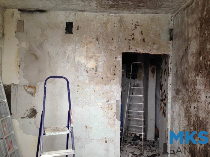 Уборка квартиры после пожара цена
